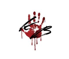 Kate Bonham  Bloody hand initials.jpg