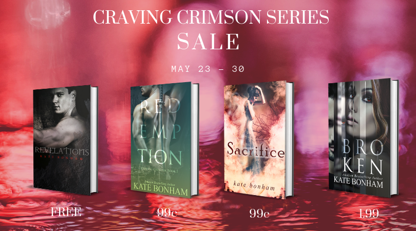 Craving Crimson Sale - May 23 to 30